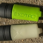 Exotac fireSLEEVE green and glow